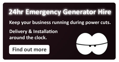 Emergency Generator hire - Buckinghamshire