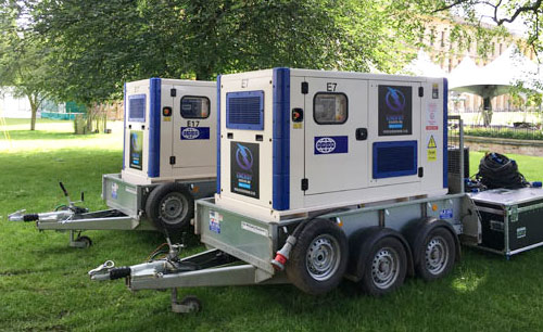 Generator hire, servicing and repair