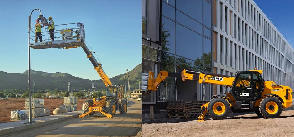 JCB Telehandler Hire UK