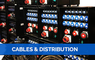Cables and distribution Hire