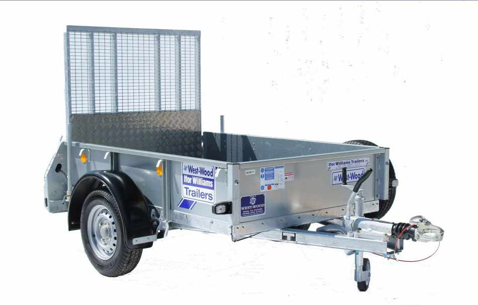 Ifor Williams GD64 Single Axle Ramp Trailer