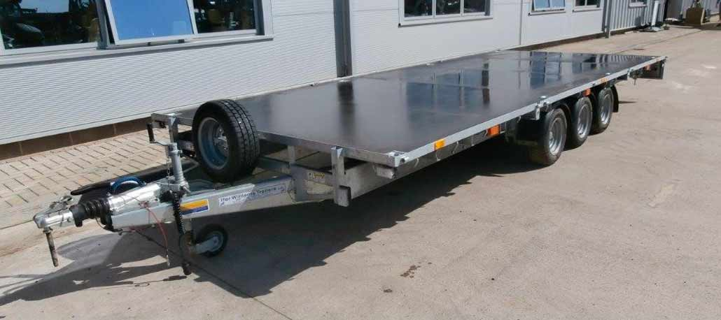 Ifor Williams LM187T Flatbed Trailer