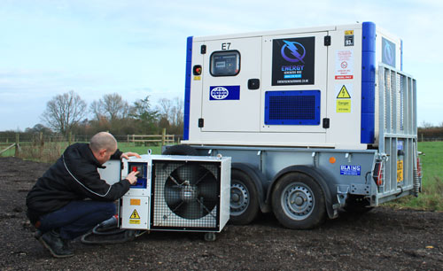 Generator servicing and repair
