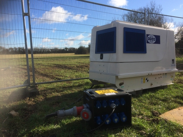 Our latest long-term generator hire in Aylesbury, Buckinghamshire