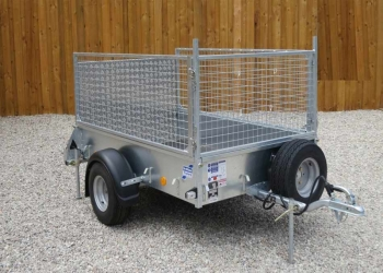 Ifor Williams P7E Mesh Trailer