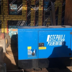 Energy Generators completes a service on a Stephill 20kVA static unit on site in London