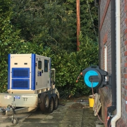 Energy Generator's provides another house back up with one of our 26kVA units in Little Basildon, Berkshire