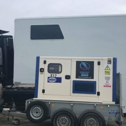 Energy Generators supplies a 65kVA Road Tow Generator to Robo Race in Upper Heyford