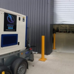 Energy Generators supports a factory Back Up in Banbury, Oxfordshire