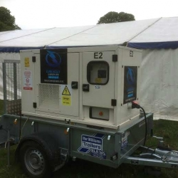 Generator hire for local charity in Aylesbury, Bucks