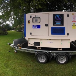 Double generator hire for wedding in Hertfordshire
