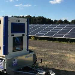 Emergency generator hire to solar farm in Gloucestershire