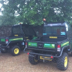 Gator buggies hired for film shoot in West Wycombe