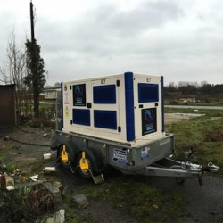 Emergency generator hire for mobile home park in Maidstone, Kent