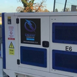 Temporary power solution for football stadium in Windsor, Berkshire