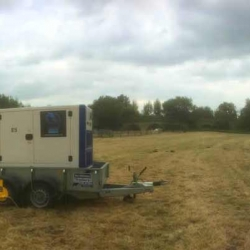 Generator for wedding by the river - Swinford, Oxfordshire