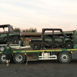 John Deere buggy hire available across England and Wales