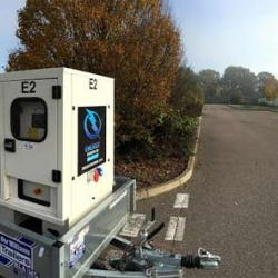 Generator hire for university event in St Albans, Hertfordshire