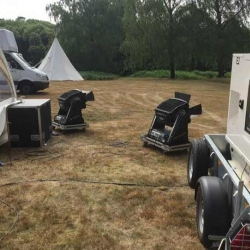 Power supplied for outdoor wedding in Slough