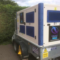 Generator, Cabling and Distribution to a wedding in Hastings, London