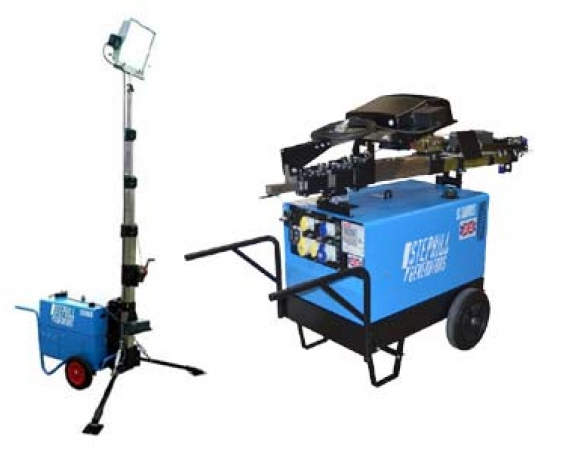 SLT6000D5 6.0kva/4.8kw Diesel Lighting Tower Generator for Hire