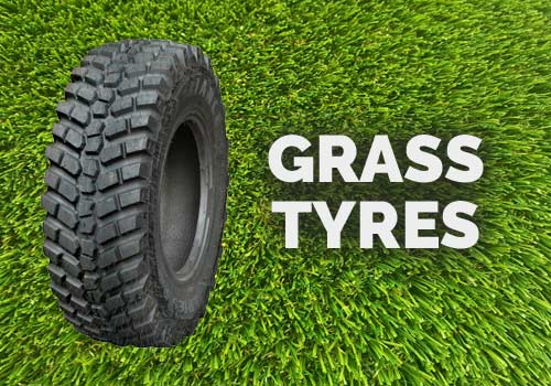 Telehandler Hire with Grass Tyres